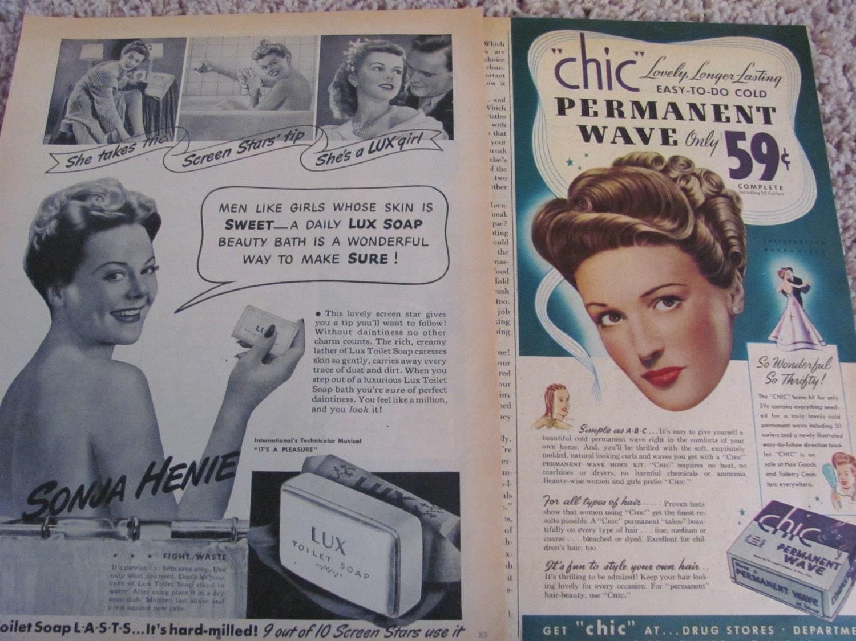 Vintage Magazine Ads - 1945