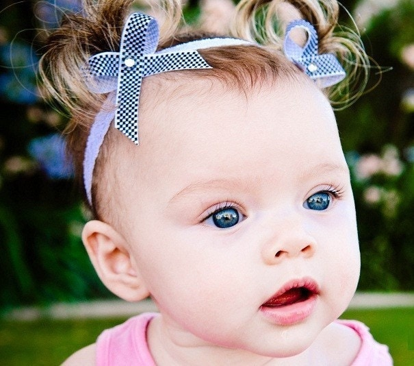 pigtail headbands for babies