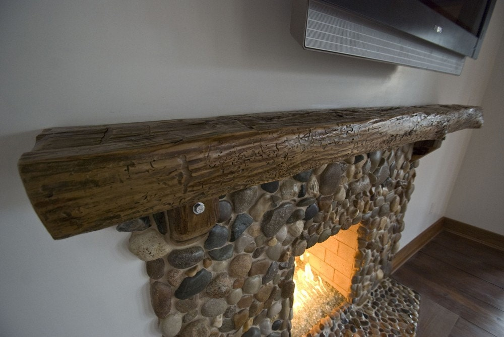 Reclaimed Barn Wood Mantels