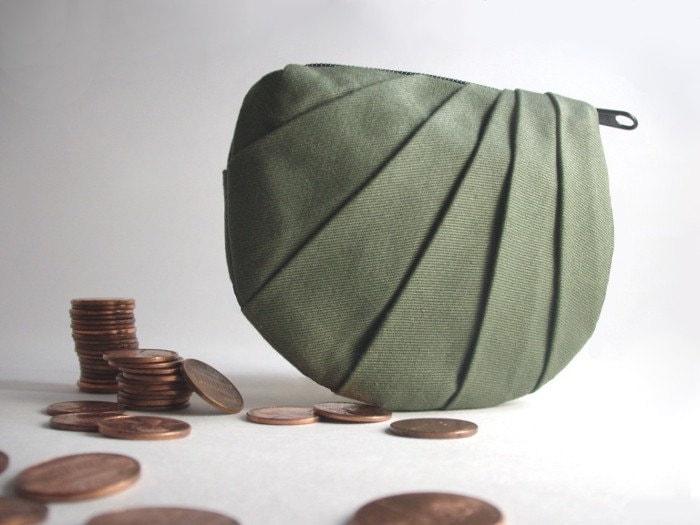 Green Coin Purse- $26