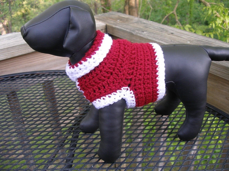 Free Online Crochet Patterns For Doggie Sweater Crochet
