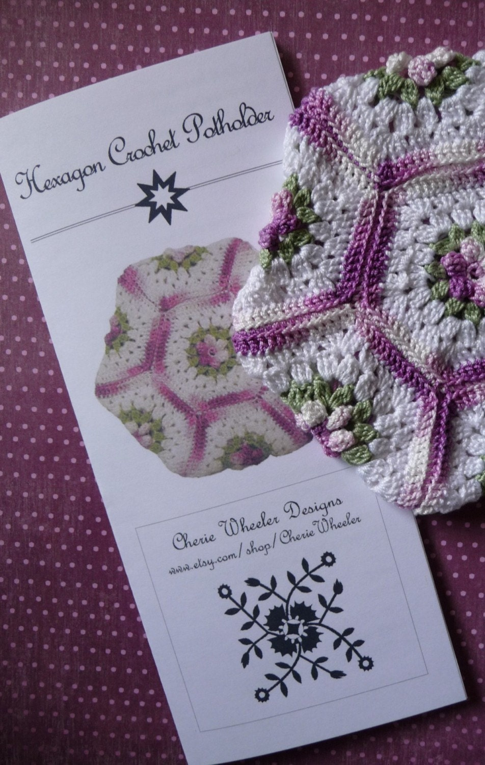 SM Crafts » Hexagon Crochet Bee Free Pattern