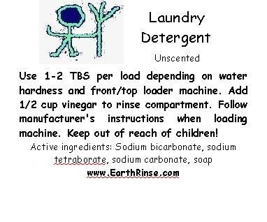 Unscented Natural Homemade Laundry Detergent Soap 37 74 loads