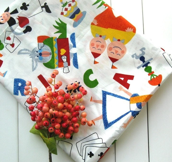 alice in wonderland cartoon cards. Zakka Colorful Alice In