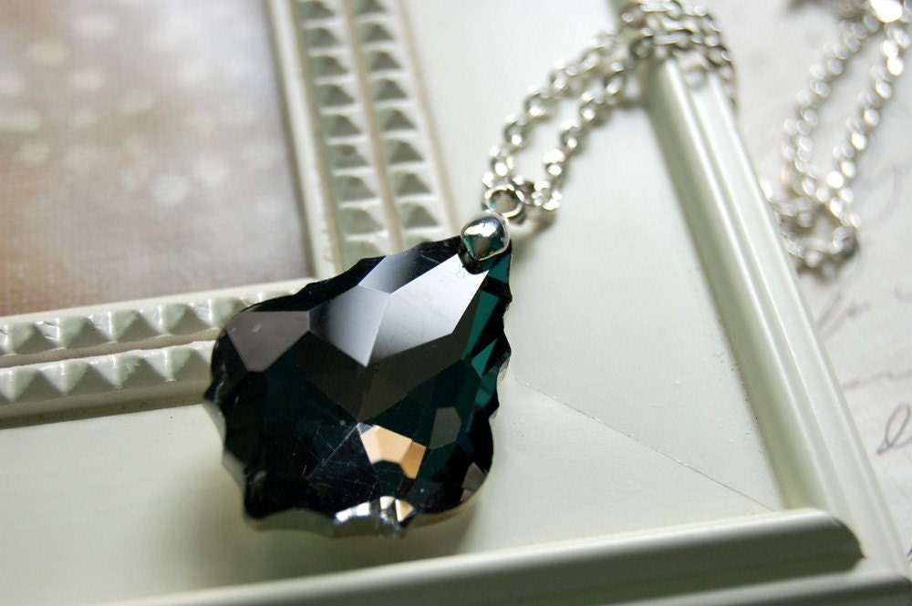 Black Diamond Baroque Necklace