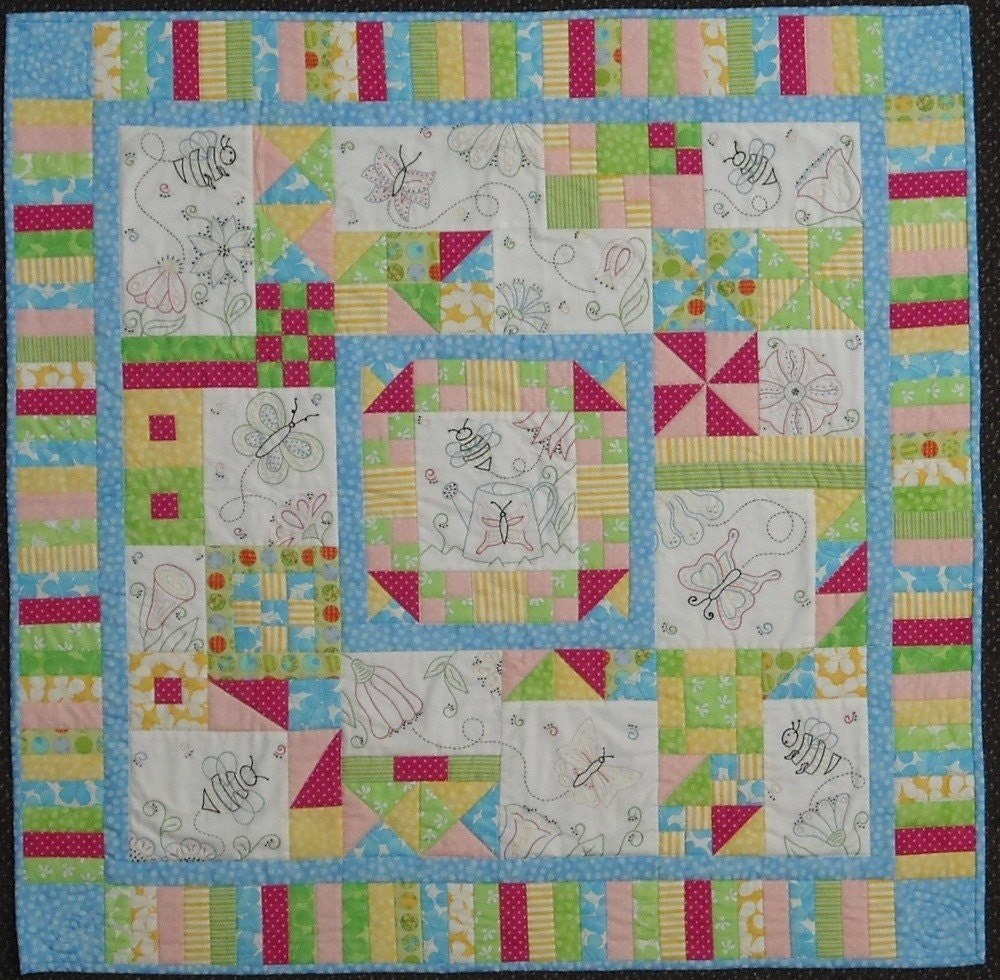 Another new project to work on purchased from Shelley at Prarie Moon Quilts
