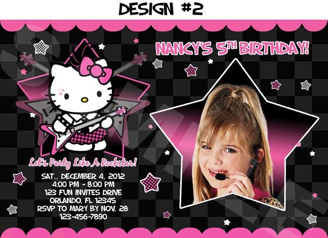 Hello Kitty Rockstar Photo