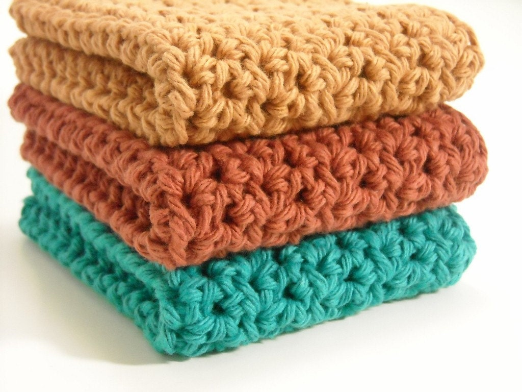 Free Crochet Pattern For Easy Dishcloth : CROCHET COTTON DISHCLOTH ? Crochet For Beginners