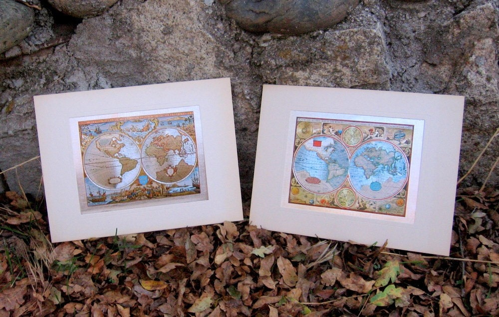 Vintage World Map Prints. Buy Vintage Style World Map Poster from Play.com