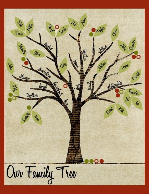 Great Ideas      Thanksgiving  EditionFamily Tree Ideas For Kids Project
