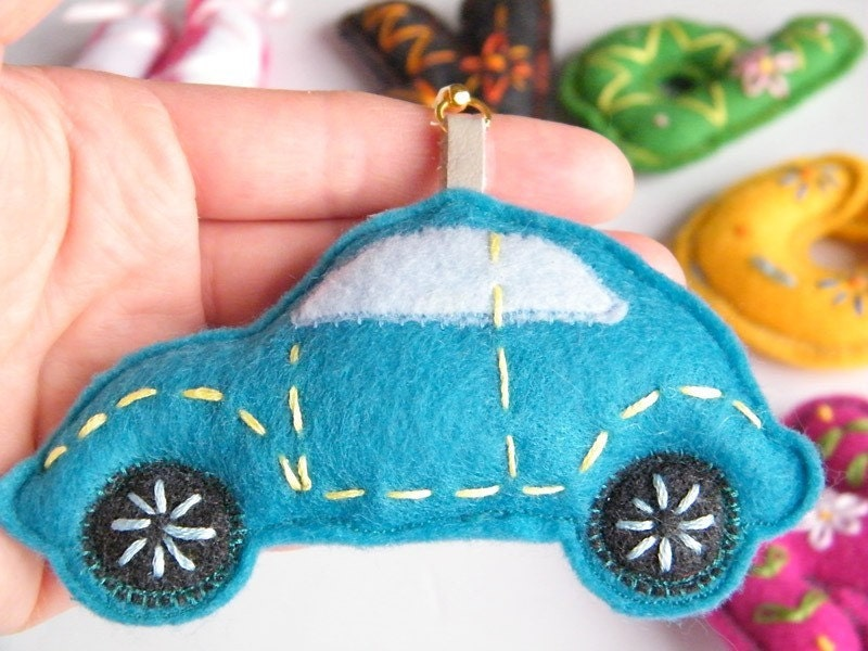 Car Toy Keychain