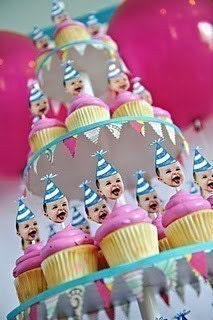 Click here for custom cupcake picks of your birthday Cutie!