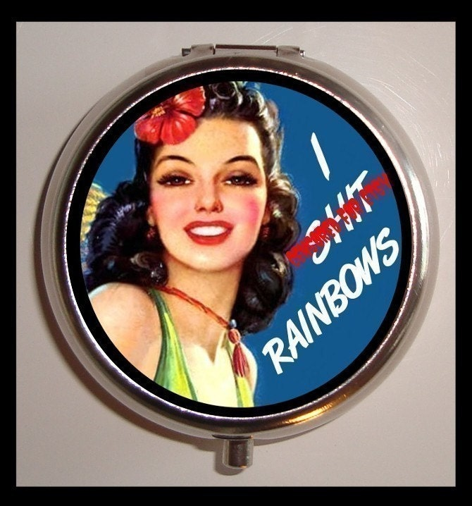 funny pin up quotes. RAINBOWS Retro Funny Pinup