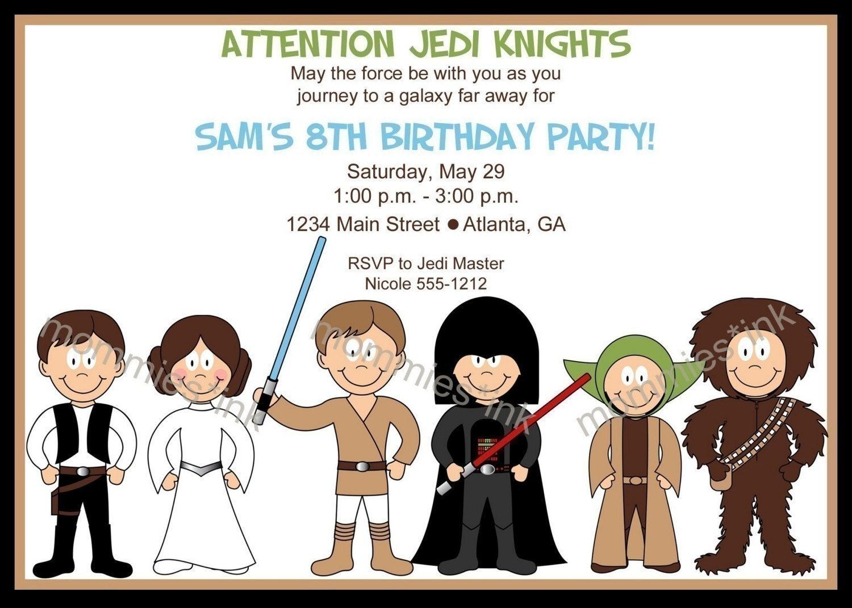 Star Wars Printable Invitations 102