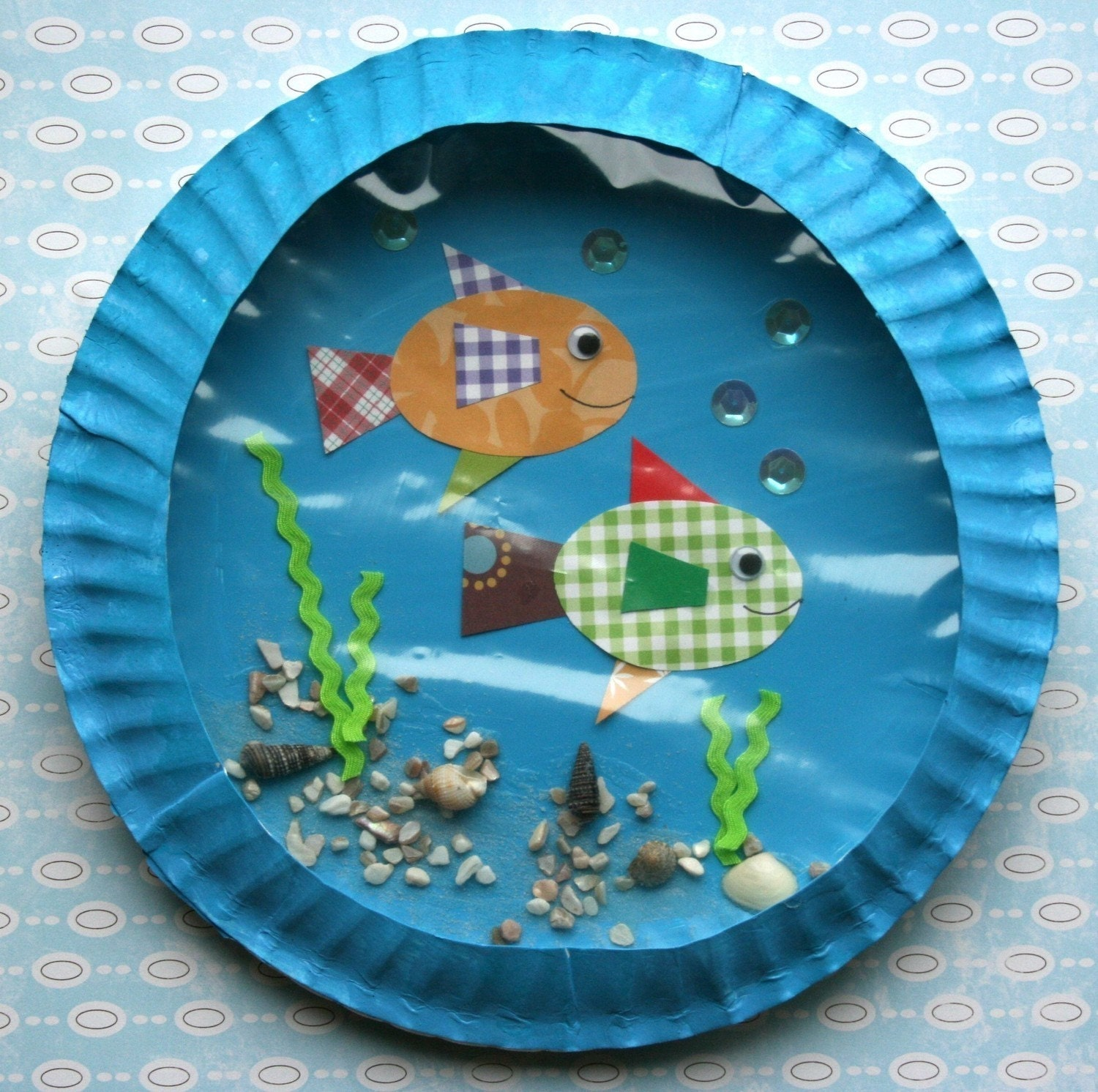 Smart bottom enterprises craft kits for Fish crafts for preschoolers