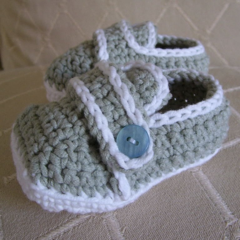 Free Crochet Pattern For Baby Shoe Sole : CROCHET BABY SHOE PATTERN Crochet Patterns