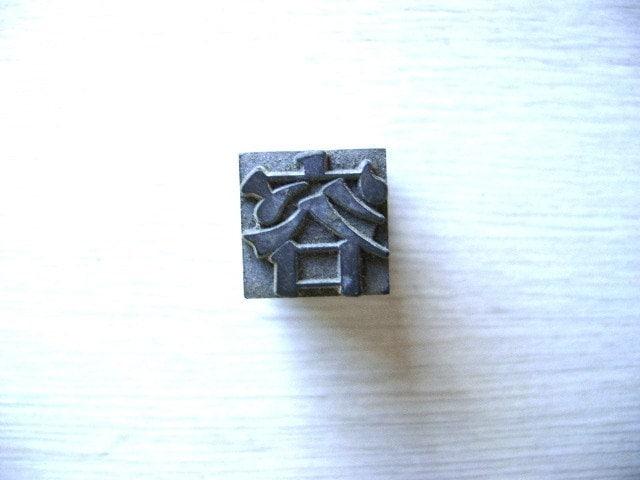 Vintage Japanese Typewriter Key looks, appearance, figure, form L Size
