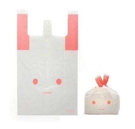 10 Pink Rabbit Cello Polypropylene Bags - 300 x 530 x 140mm