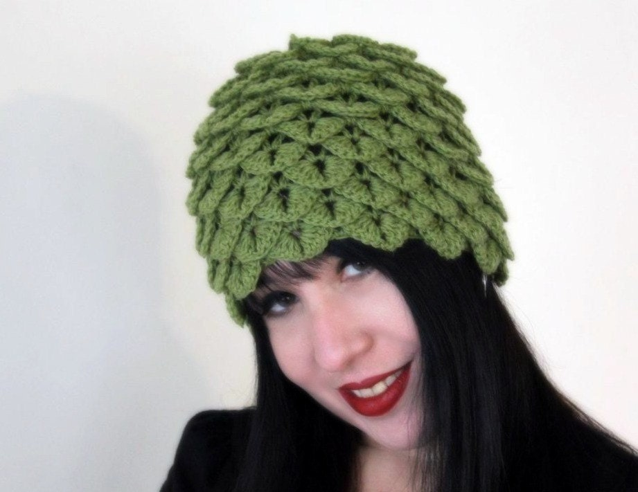 Crocheting Hats Patterns : CLOCHE CROCHET PATTERN - Crochet - Learn How to Crochet