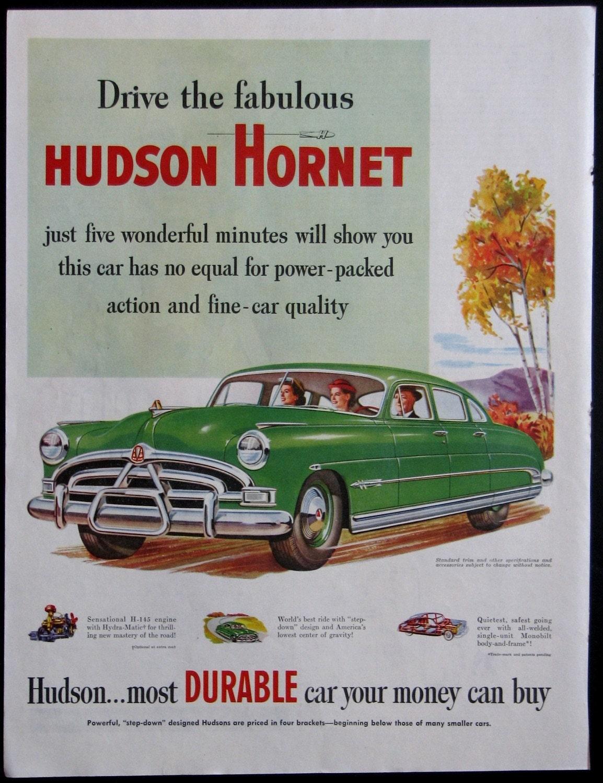A Vintage Hudson Hornet