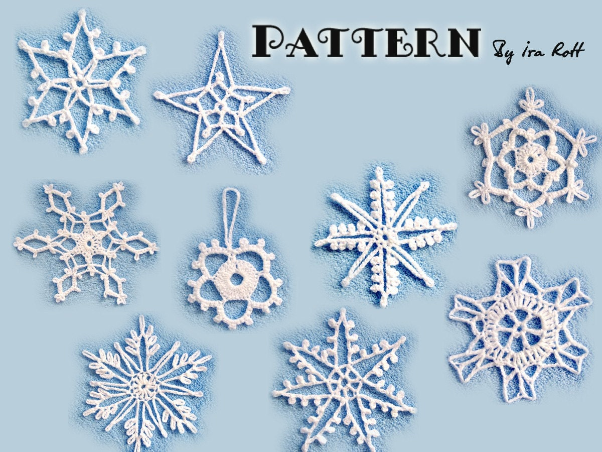 Irish Snowflake - AllFreeCrochet.com - Free Crochet Patterns