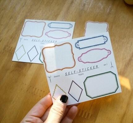 Frame Sticker (4sheets)