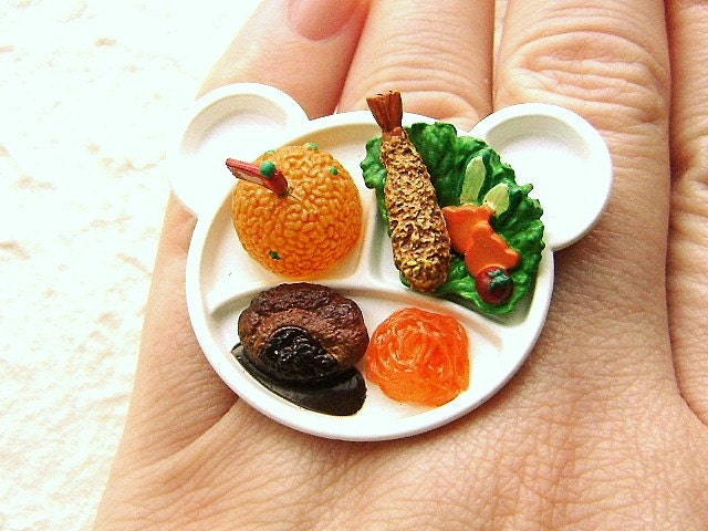 Kawaii Japanese Ring - A Kid's Lunch