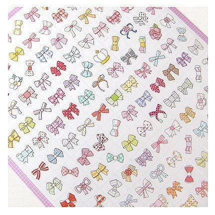 Petit Ribbon Deco Sticker - 2sheets