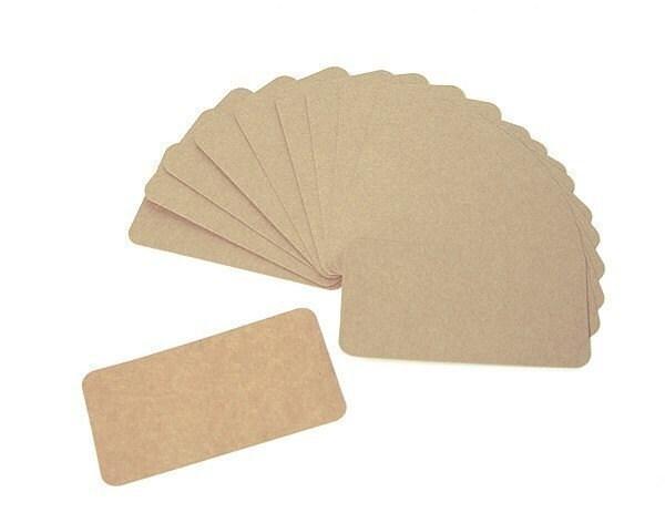 Kraft Business Card - blank (50 sheet)