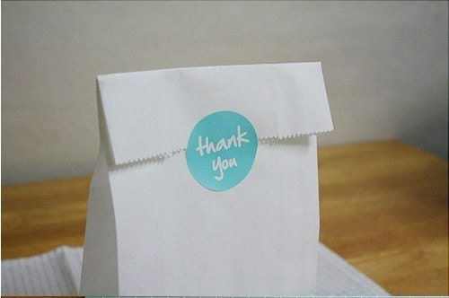 Thank You Sticker - 2Sheets of 36