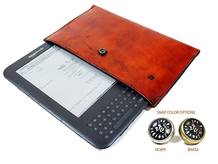 Leather Kindle Cover
