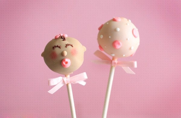 Baby Shower Cake Pop Ideas
