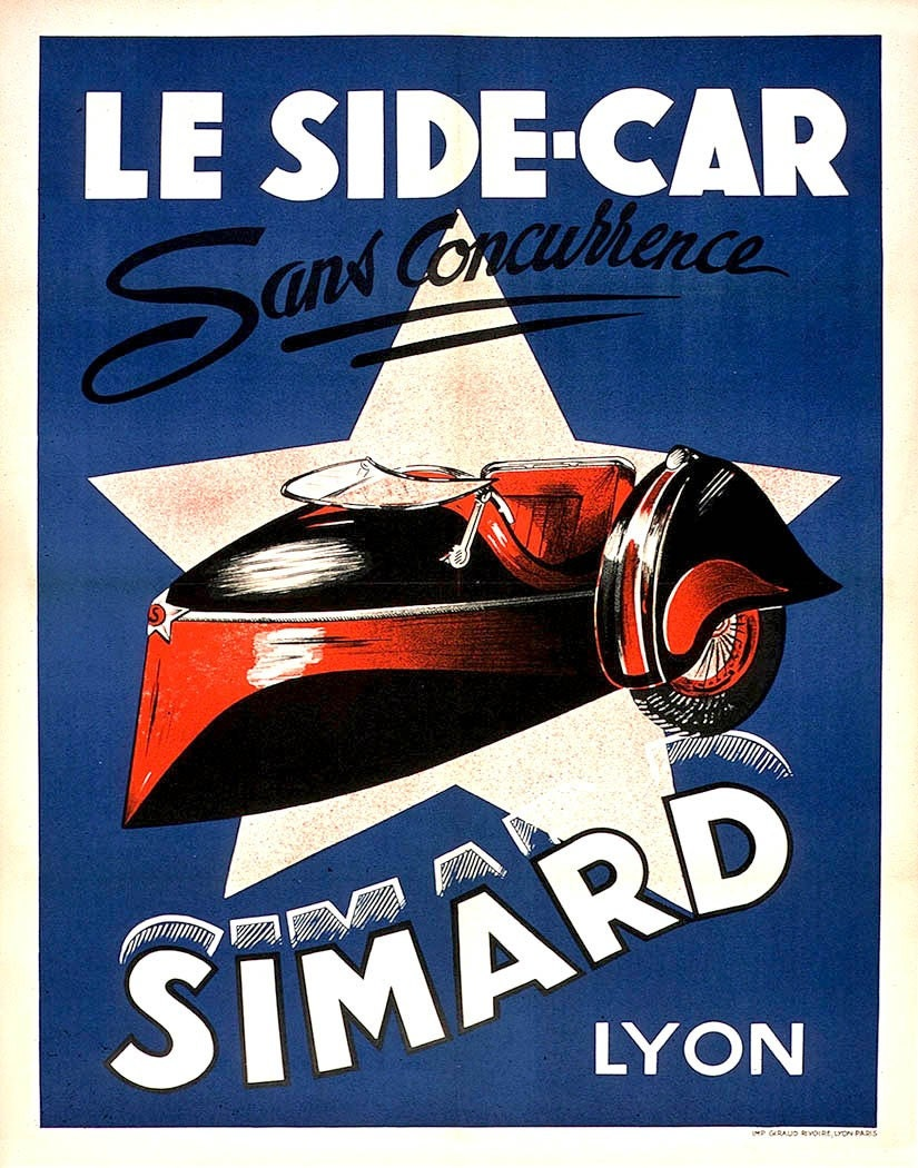 Vintage French Advertisements: