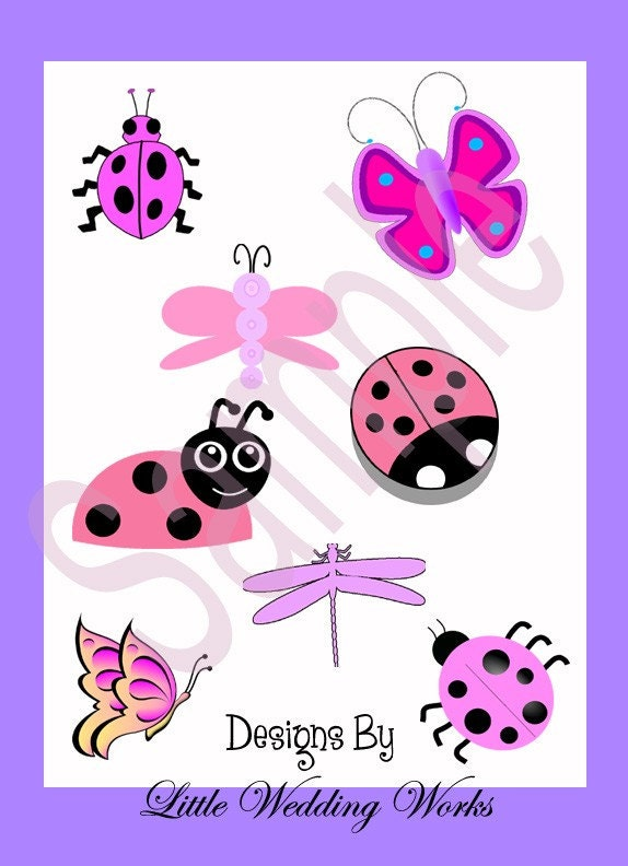 Clip Art Dragonflies. Clip art Collection