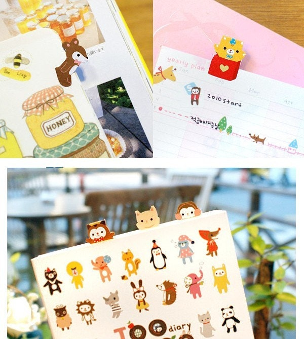 JOOZOO index sticker- yellow (2sheets)