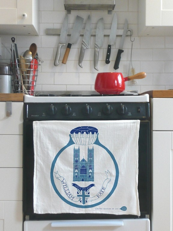 william and kate royal wedding tea towel. William and Kate Royal Wedding