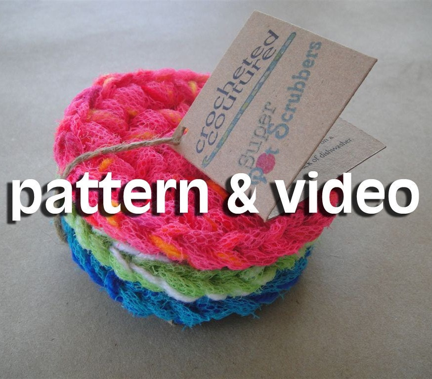Free Pattern Crochet Nylon Pot Scrubbers : CROCHET NYLON PATTERNS - Crochet Club