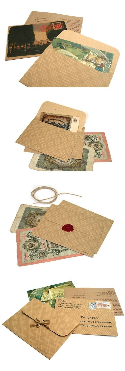 Check Paper Envelope (7sheets)