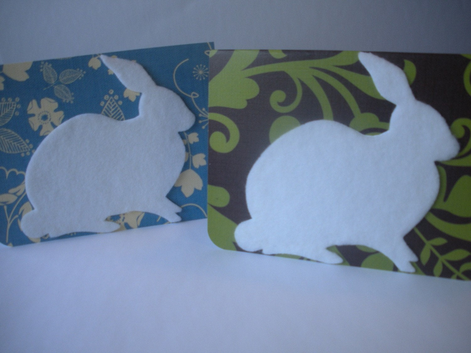 Eco Friendly Bunny Card Set