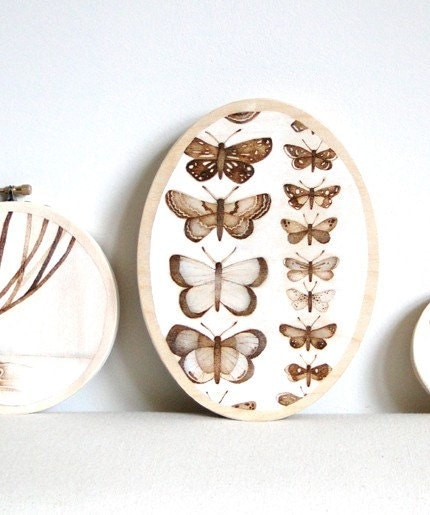 flight no. eight - original butterfly art