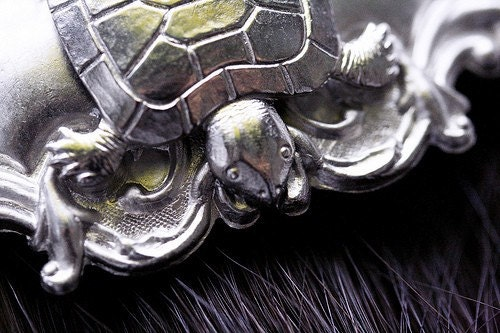 Turtle Hair Clip