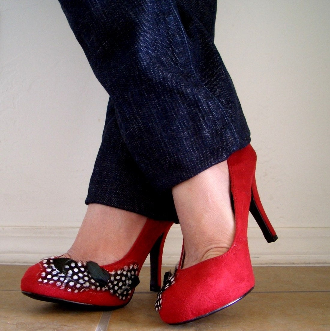 Red & Black Shoes