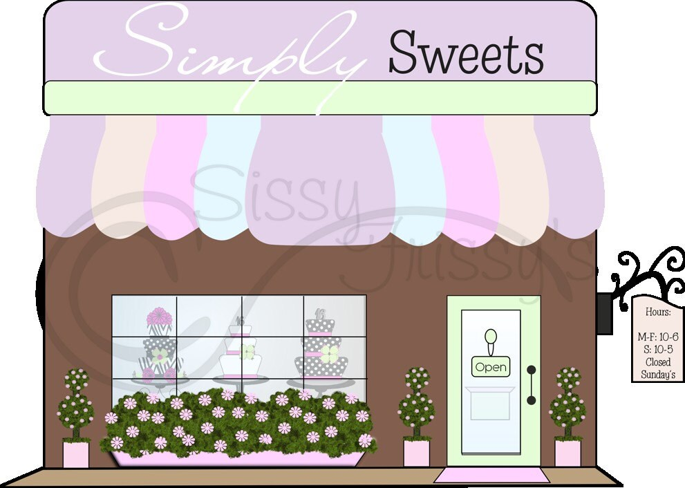 Bakery Storefront Clip...