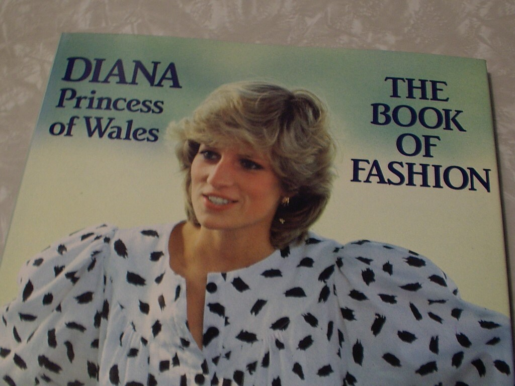Princess Diana fashion book,