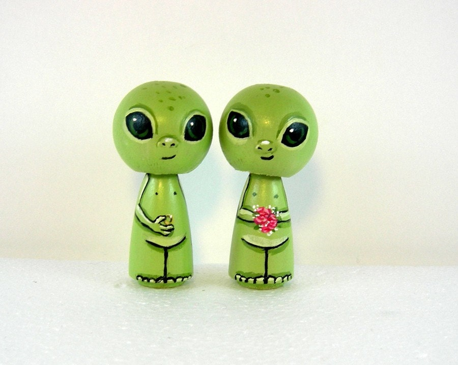 Little Green Aliens