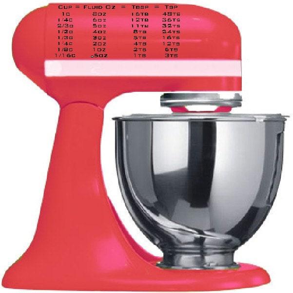 Kitchenaid Mixer Decals ~ Barefootbeadshawaii kitchen aid stand mixer