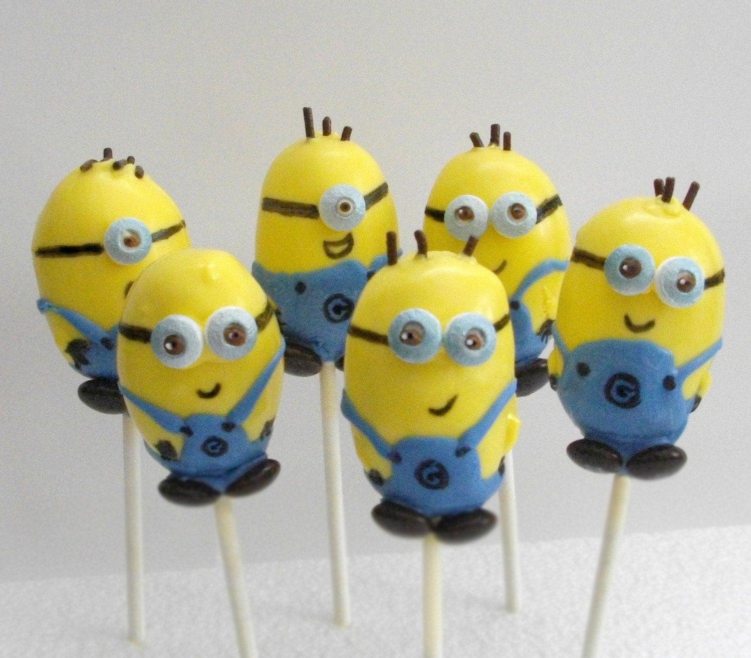Despicable Me Minions Cake Pop