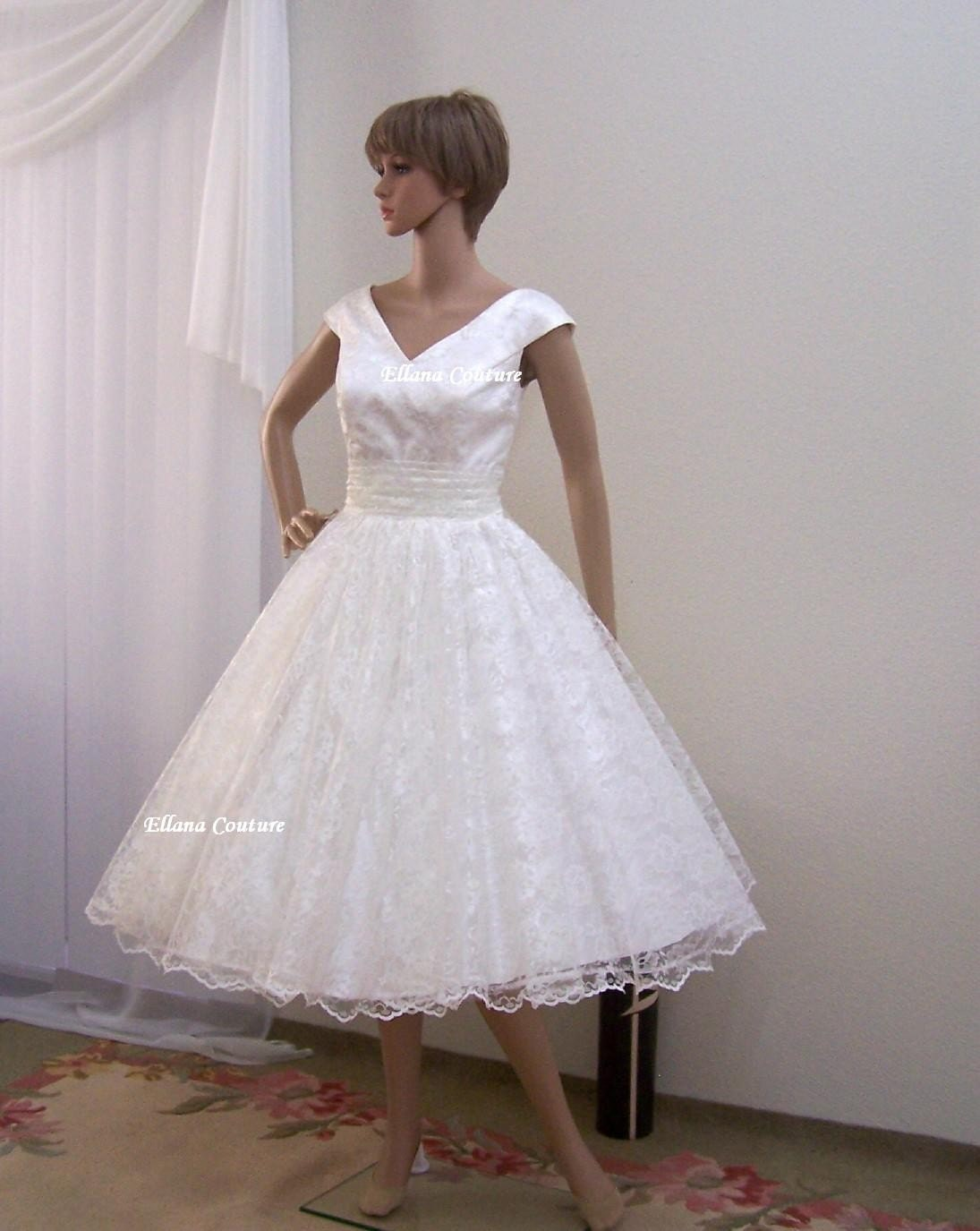 blog rockabilly vine style wedding dresses