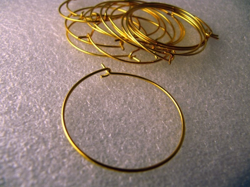 Hoops For Heart. Heart Earwire with Hoop,