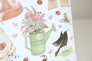 Time Began In a Garden sticker